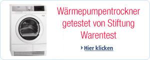Die besten Wäschetrockner getestet von Stiftung Warentest