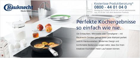 Bauknecht Banner Markenshop Kochen