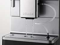 CM-Automatische Spülung der Milchleitungen aus dem Wassertank