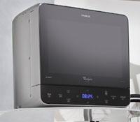 whirlpool max 38 sl mikrowelle 13 l 700 w silber jetstart funktion 3 d system quarz. Black Bedroom Furniture Sets. Home Design Ideas