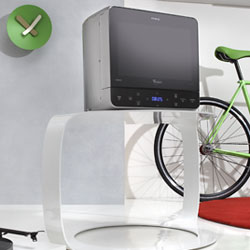 whirlpool max 34 sl mikrowelle 13 l 700 w jetstart. Black Bedroom Furniture Sets. Home Design Ideas