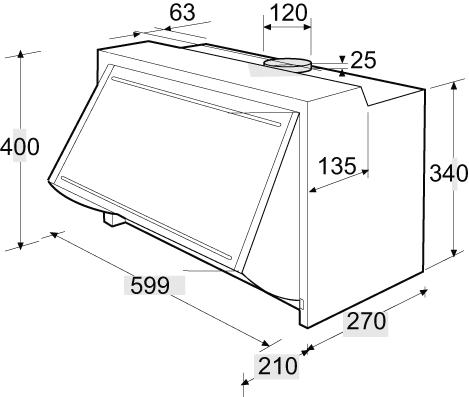 einbau abzugshaube perfect nett abzugshaube abluft schone. Black Bedroom Furniture Sets. Home Design Ideas