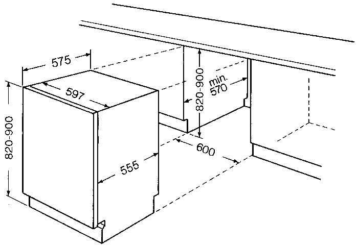 bauknecht gsxs 7425 vollintegrierbarer einbaugeschirrsp ler aaa wasserverbrauch 15 l. Black Bedroom Furniture Sets. Home Design Ideas