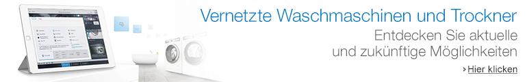 Vernetzte Waschmaschinen & Trockner