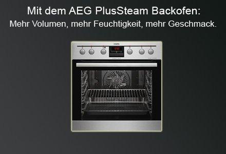 AEG PlusSteam Backofen