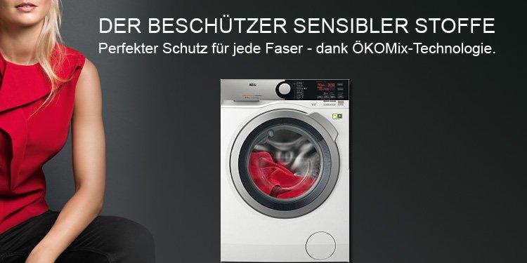 AEG Waschmaschinen mit ÖKOMix