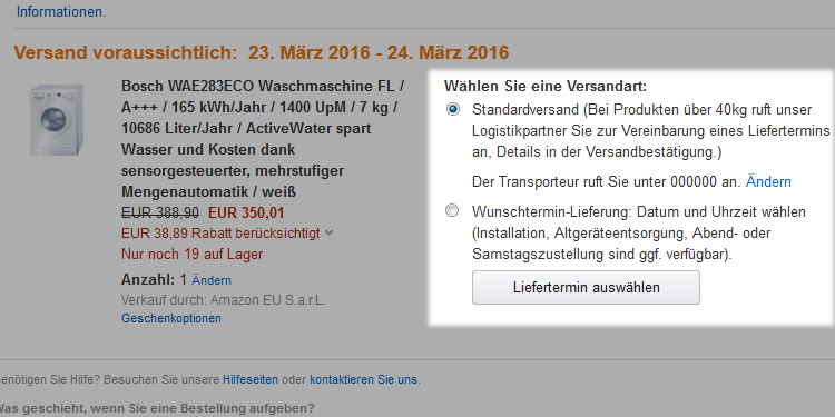 Amazon De Service Informationen Elektro Grossgerate