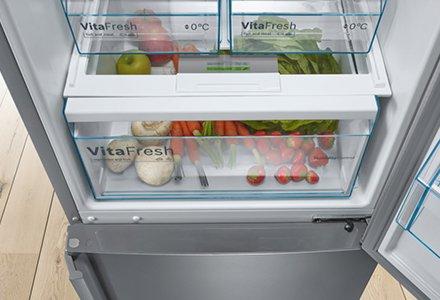 Abbildung Kühlschrank mit VitaFresh