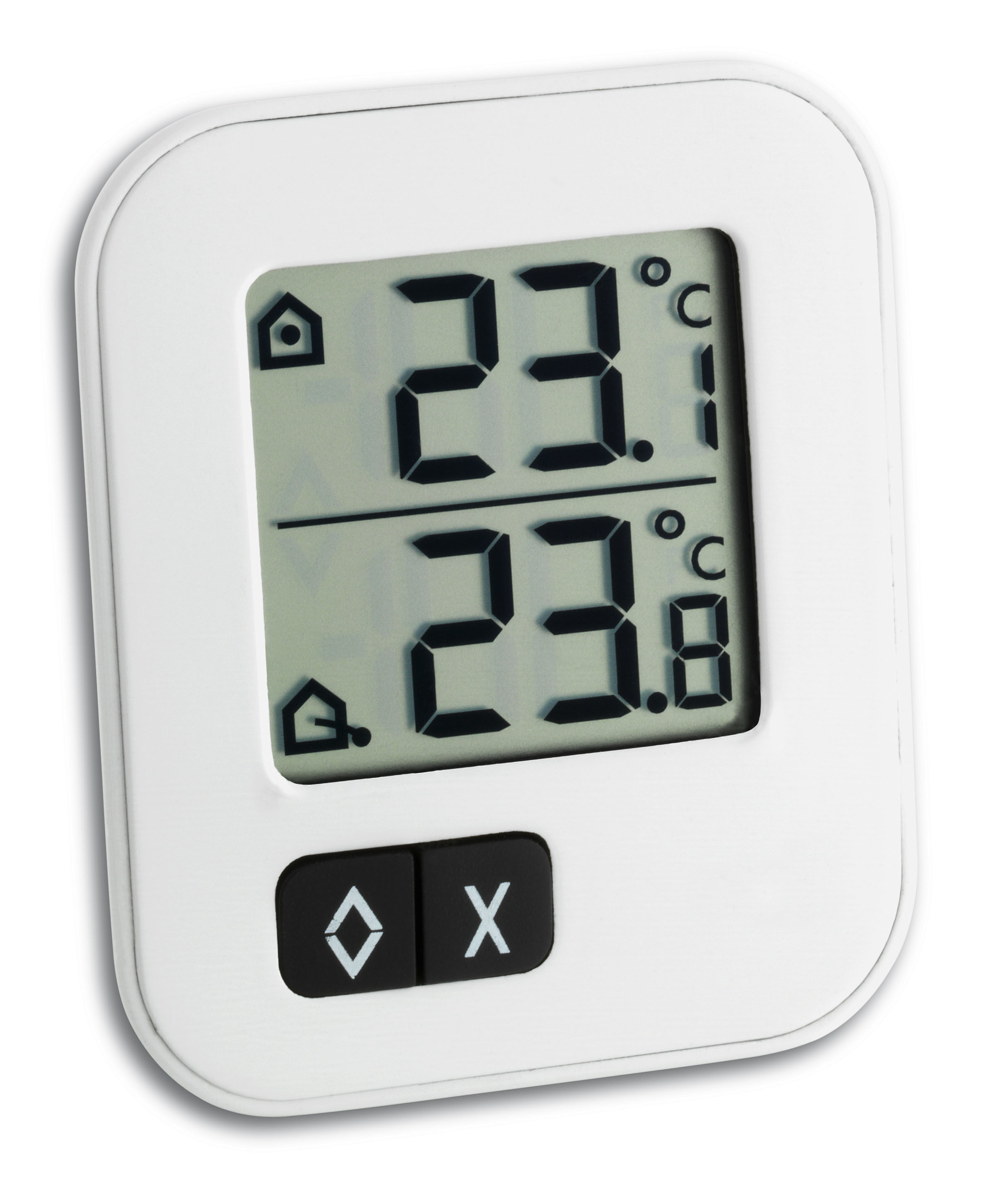 Tfa dostmann digitales max min thermometer for Thermometres exterieurs