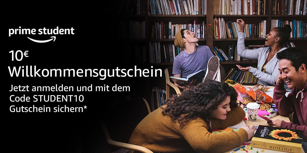 10€ Willkommensgutschein für Studenten