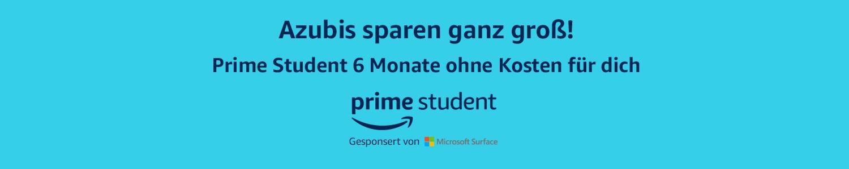 Prime Student - Jetzt auch für Azubis
