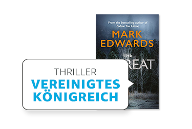 Lieblingsgenre in UK: Thriller