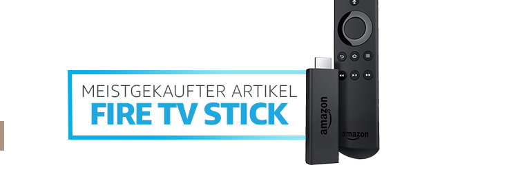Meistgekaufter Artikel: Fire TV Stick