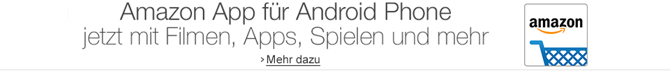 Amazon App für Android Phone mit Filmen, Apps, Spielen und mehr