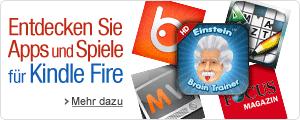 Apps und Spiele für Kindle Fire