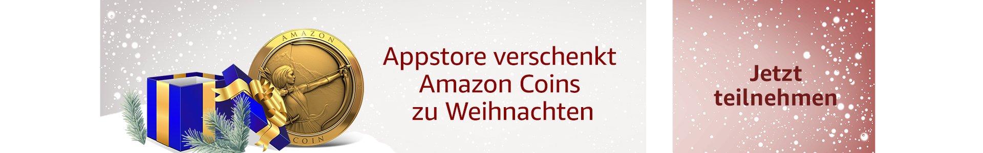 Appstore verschenkt Amazon Coins zu Weihnachten