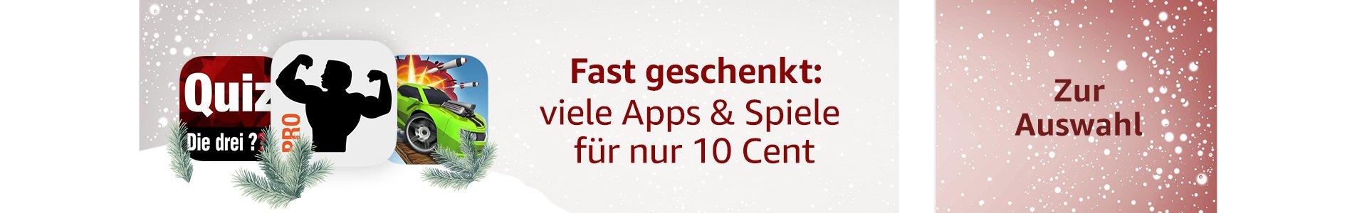 Fast geschenkt: viele Apps and Spiele für nur 10 Cent
