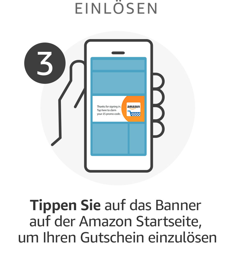 Sichern Sie sich jetzt 5€ Rabatt mit der Amazon App @ Amazon.de