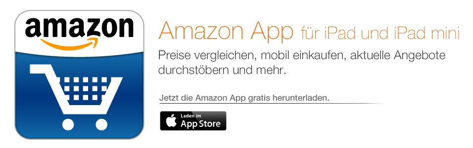 Die Amazon App für iPad