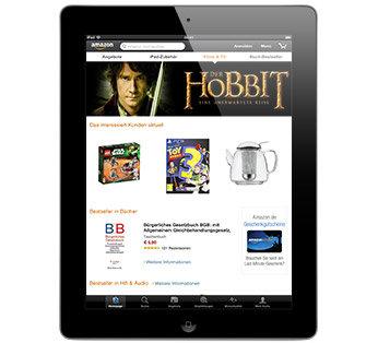 Laden Sie die Amazon App herunter