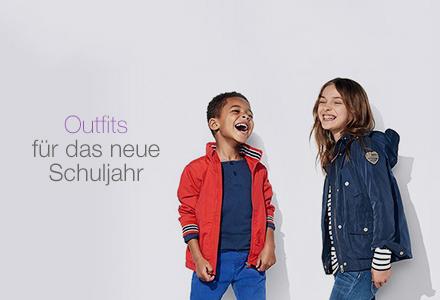 Outfits für das neue Schuljahr