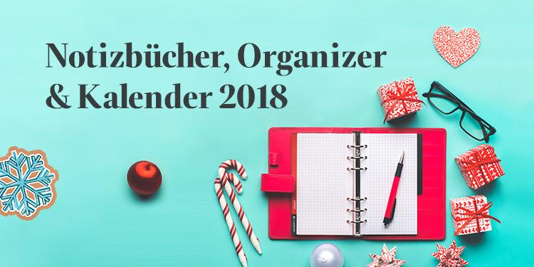 Notizbücher, Organizer & Kalender 2018
