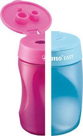 STABILO EASYsharpener – ergonomischer Dosenspitzer für Links- und Rechtshänder.