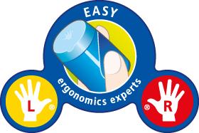 STABILO EASYergonomics experts für Links- und Rechtshänder – mit großen oder kleinen Händen.
