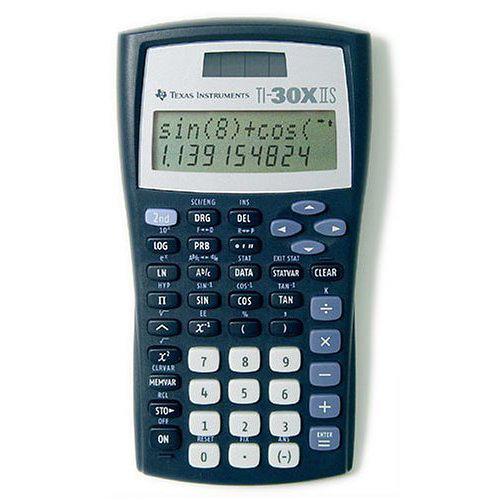 Texas Instruments 30 X Ii Solar Taschenrechner Amazonde