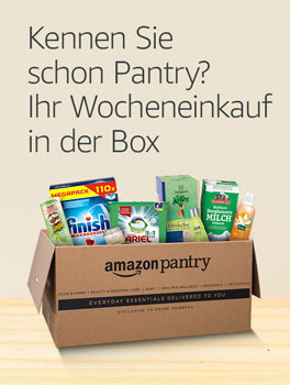 Amazon Pantry: Ihr Wocheneinkauf in der Box