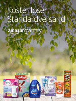 Amazon Pantry: Jetzt kostenlosen Standardversand sichern