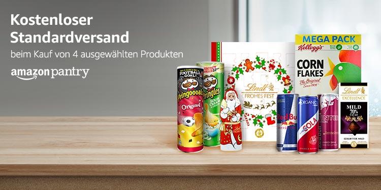 Kostenloser Standardversand beim Kauf von 4 ausgewählten Produkten
