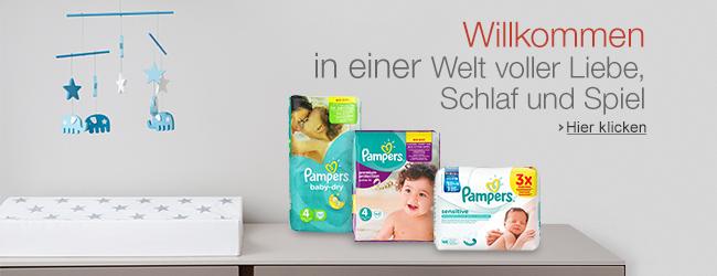 Produkte von Pampers bei Pantry