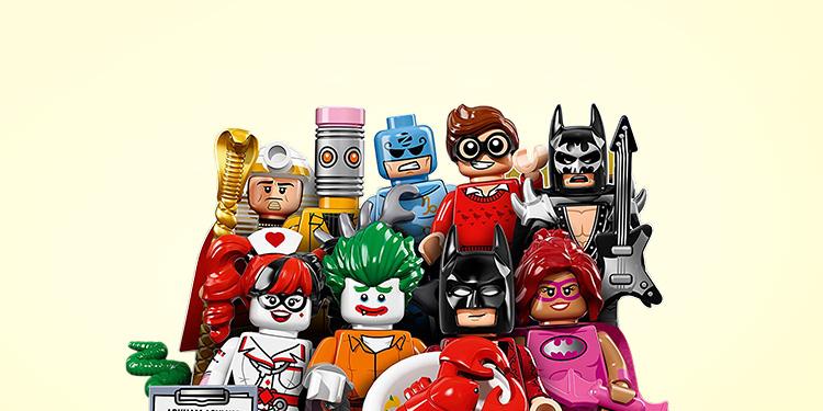 Batman-Figur von LEGO gratis