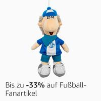 -33% auf Fußball-Fanartikel