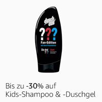Bis zu -30% auf Kids-Shampoo & Duschgel