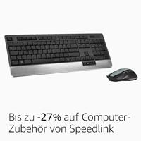 Bis zu -27% auf Computer-Zubehör von Speedlink