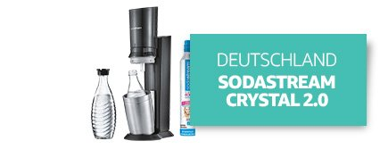 [Country] Deutschland [Product]* *SodaStream CRYSTAL 2.0