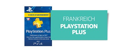 [Country] Frankreich [Product] PlayStation Plus