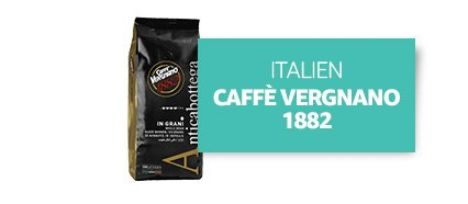 [Country] Italien [Product] Caffè Vergnano 1882