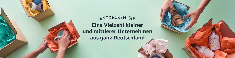 Entdecken Sie tausende deutsche Unternehmen, die bei Amazon verkaufen