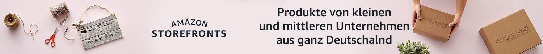 Produkte von kleinen und mittleren Unternehmen aus ganz Deutschland