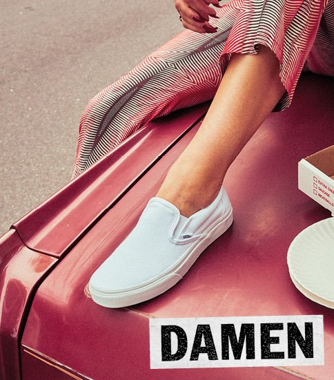 vans slip on blau damen