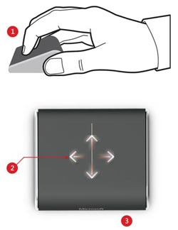 Wedge Touch Mouse