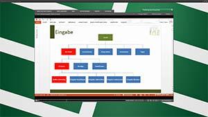 Auszug aus dem Video Bestimmung der Zellen von Excel