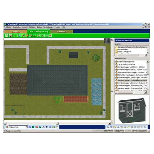 Franzis 3d gartenplaner edition 2011 software - Gartenplaner software ...
