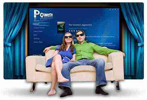 PowerDVD MCE Plug-in Blu-ray und BD-3D