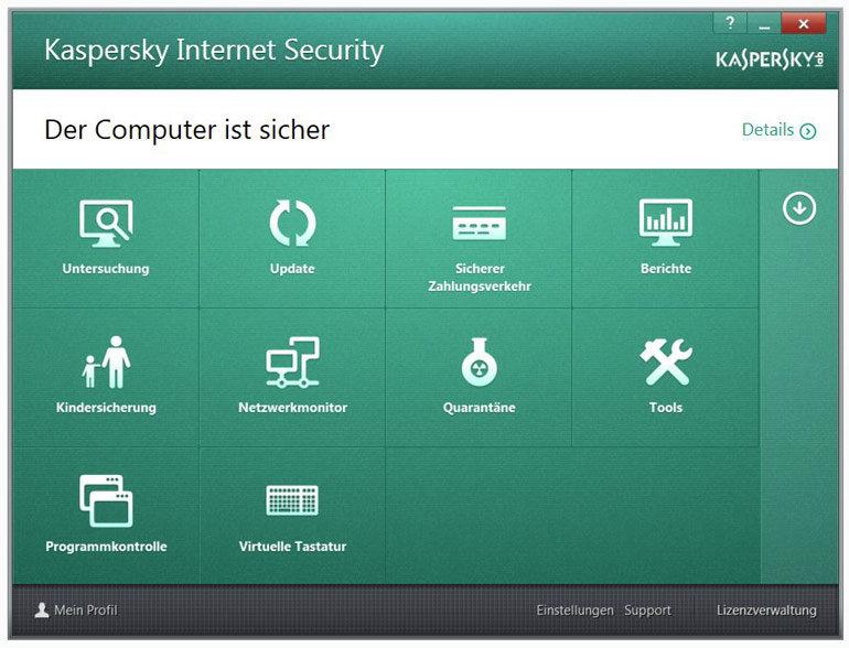 Kaspersky Internet Security 2014 Upgrade - 3 PCs: Amazon