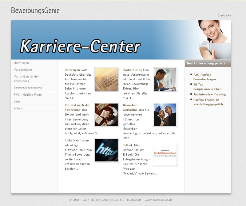 Bewerbungsgenie 7 Amazonde Software