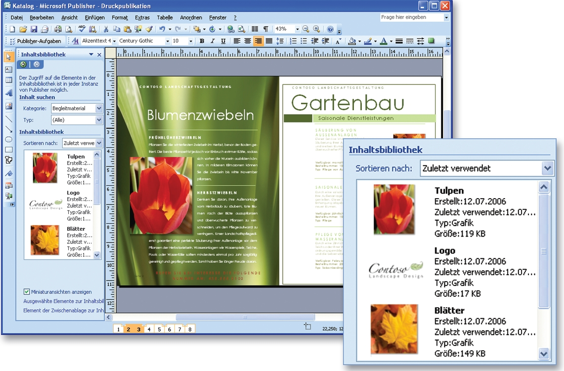 Microsoft Publisher 2007 Deutsch